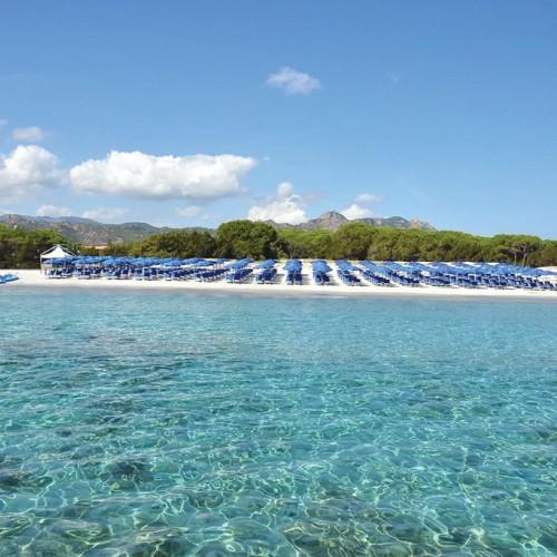 Cala Ginepro Hotel Resort - Cala Ginepro, Sardegna - Panoramica Spiaggia dall'alto