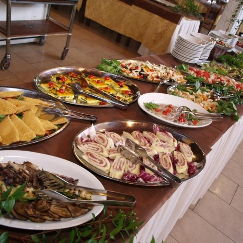 Club Esse Cala Bitta - Baja Sardinia, Sardegna - Buffet