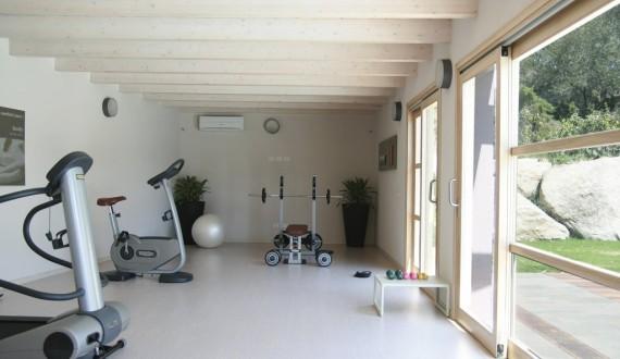 Free Beach Club - Costa Rei, Sardegna - Sala fitness