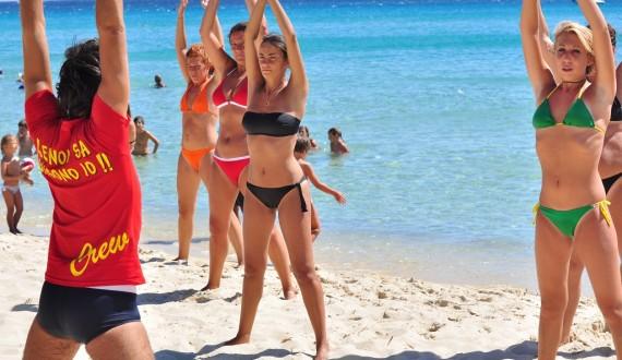 Club Esse Gallura Beach Village - Santa Teresa di Gallura, Sardegna - Animazione in spiaggia