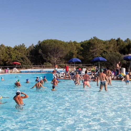 Club Esse Gallura Beach Village - Santa Teresa di Gallura, Sardegna - Acquagym in piscina