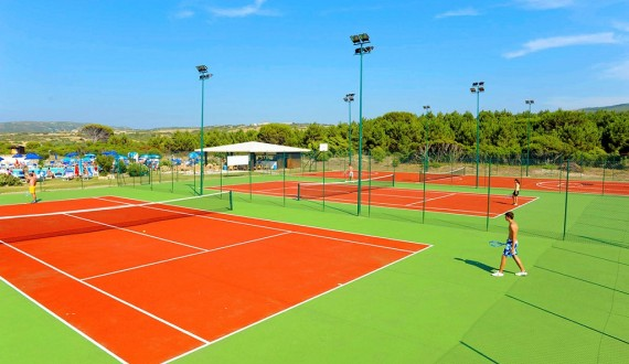 Club Esse Gallura Beach Village - Santa Teresa di Gallura, Sardegna - Campo da tennis