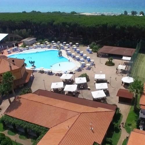 Nicotera Beache Village - Nicotera marina, Calabria - Struttura dall'alto