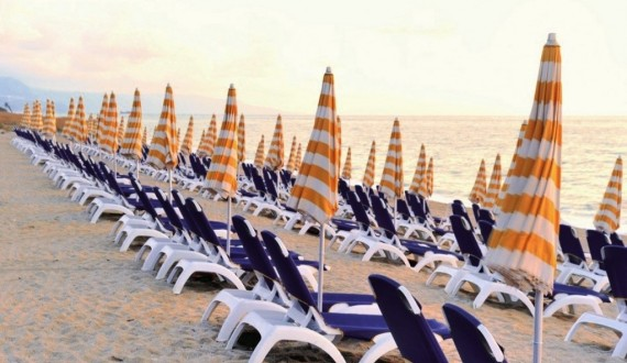 Nicotera Beache Village - Nicotera marina, Calabria - Spiaggia al tramonto