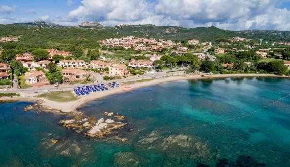 Blu Hotel Laconia Village - Cannigione di Arzachena, Sardegna - View dall'alto mare