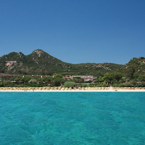 Free Beach Club - Costa Rei, Sardegna - Panorama Spiaggia
